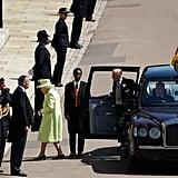 Queen Elizabeth Dress at the Royal Wedding 2018