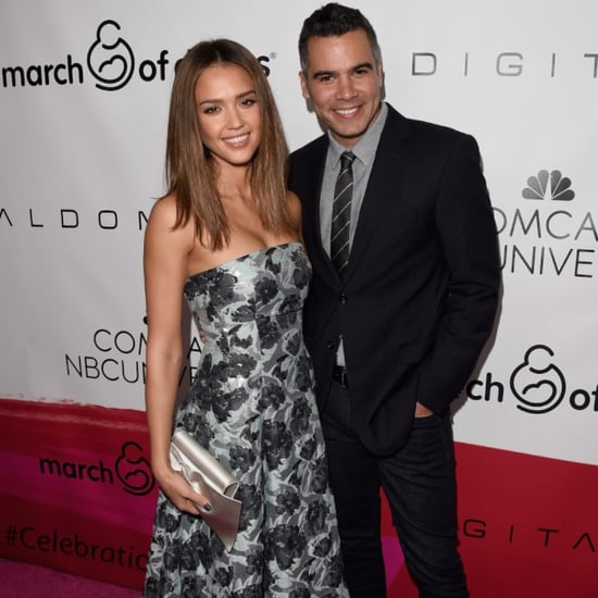 Jessica Alba and Cash Warren at 2015 March of Dimes Lunch