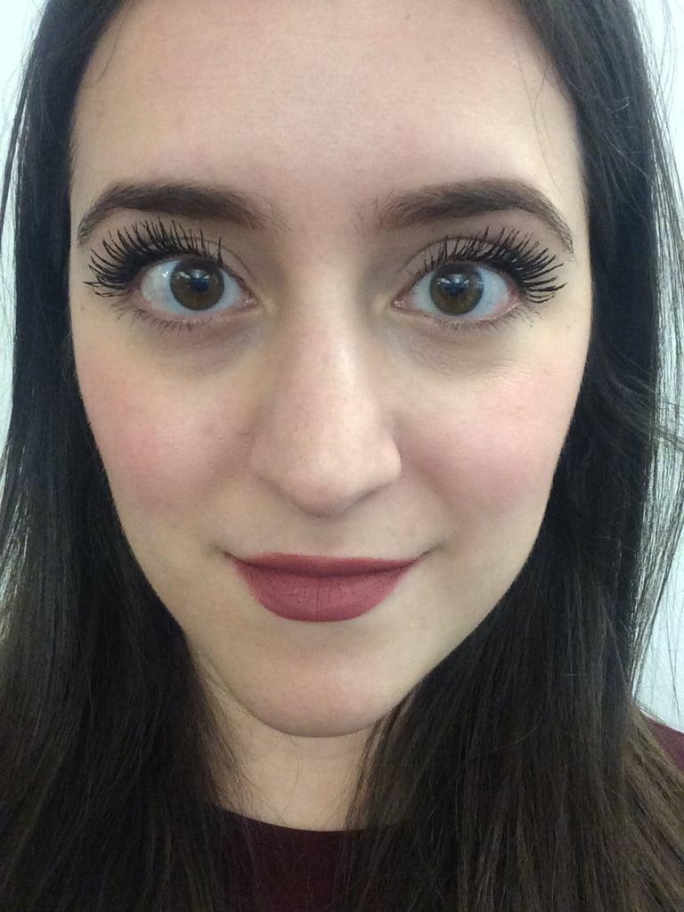 1 Coat of Diorshow Pump'N'Volume Mascara on Both Eyes