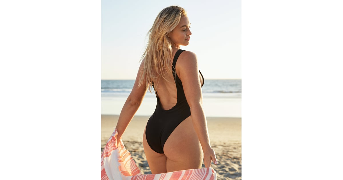 Aerie Super Scoop One Piece Swimsuit | Iskra Lawrence's
