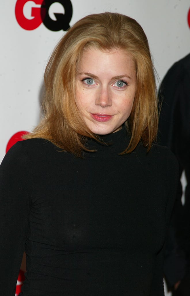 Amy Adams With Her Natural Hair Color