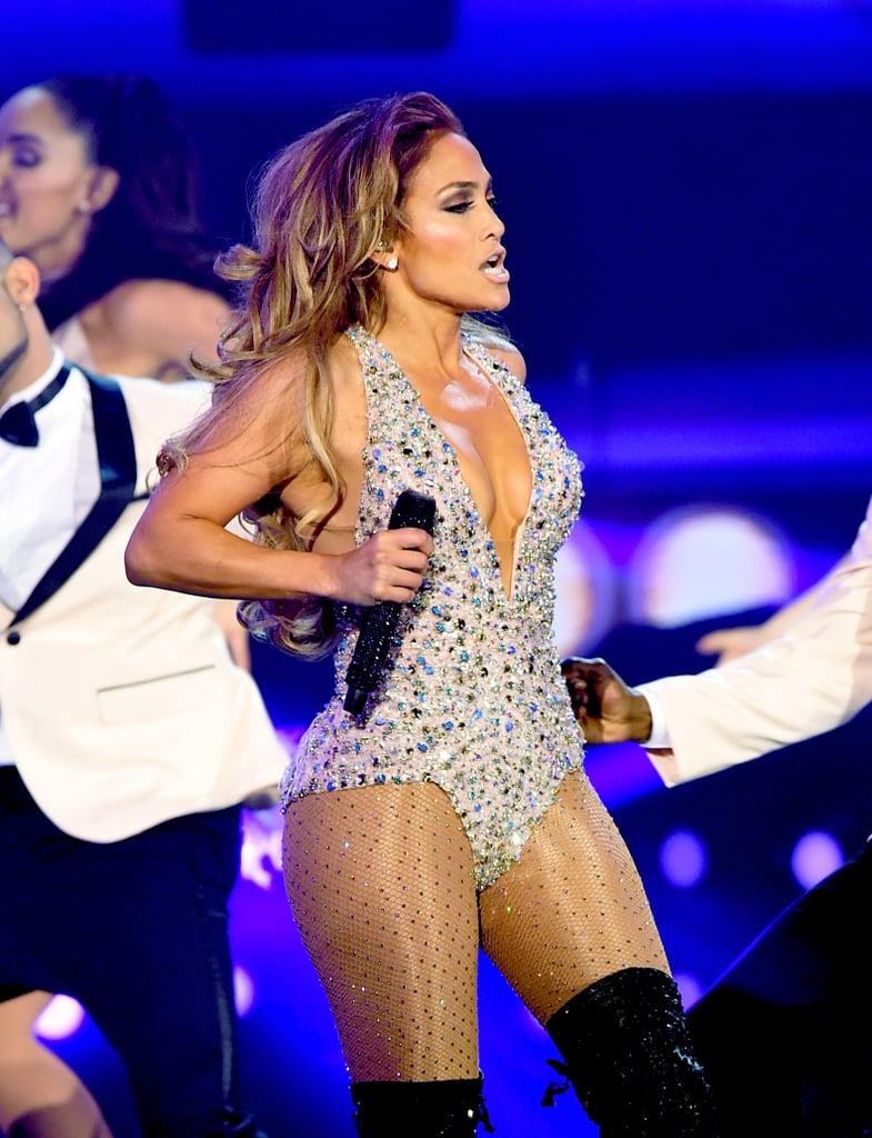 Photos of Jennifer's Bedazzled Bodysuit