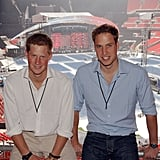William Organized the Concert For Diana With Prince Harry