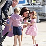 Princess Charlotte Crying in Germany Pictures