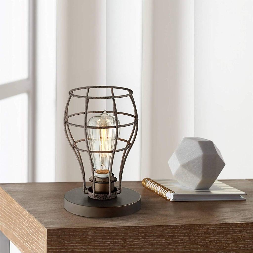 Oldham Industrial Modern Uplight Desk Table Lamp