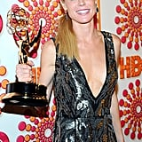Julie Bowen at the Emmys HBO afterparty.