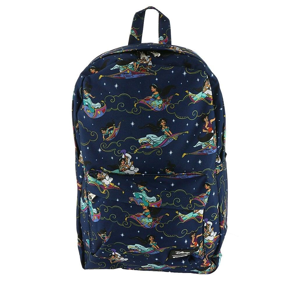 Loungefly Aladdin Magic Carpet Ride Print Backpack
