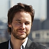 Taylor Kitsch posed for a photo call for Battleship in London.