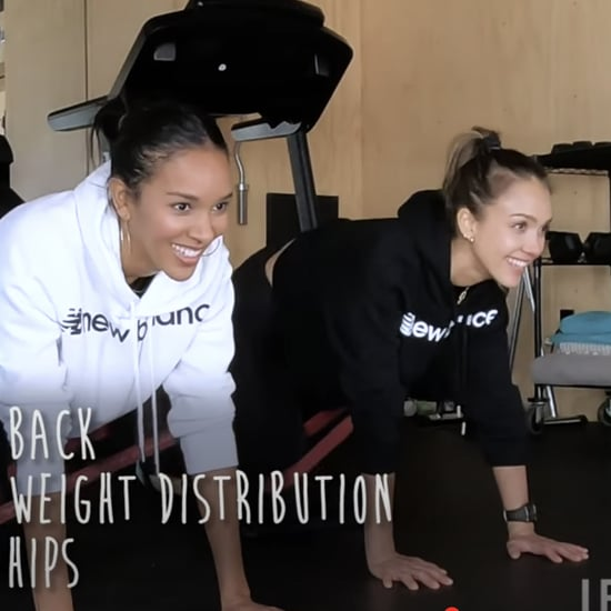 Try Jessica Alba's Booty Band Butt Workout