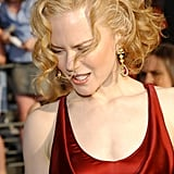 Nicole Kidman With Strawberry Blond Hair in 2003