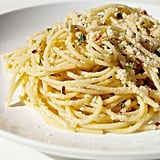 Spaghetti With Garlic White Wine Sauce