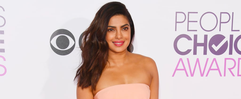 Priyanka Chopra's People's Choice Awards Look Isn't a Dress — It's an Optical Illusion