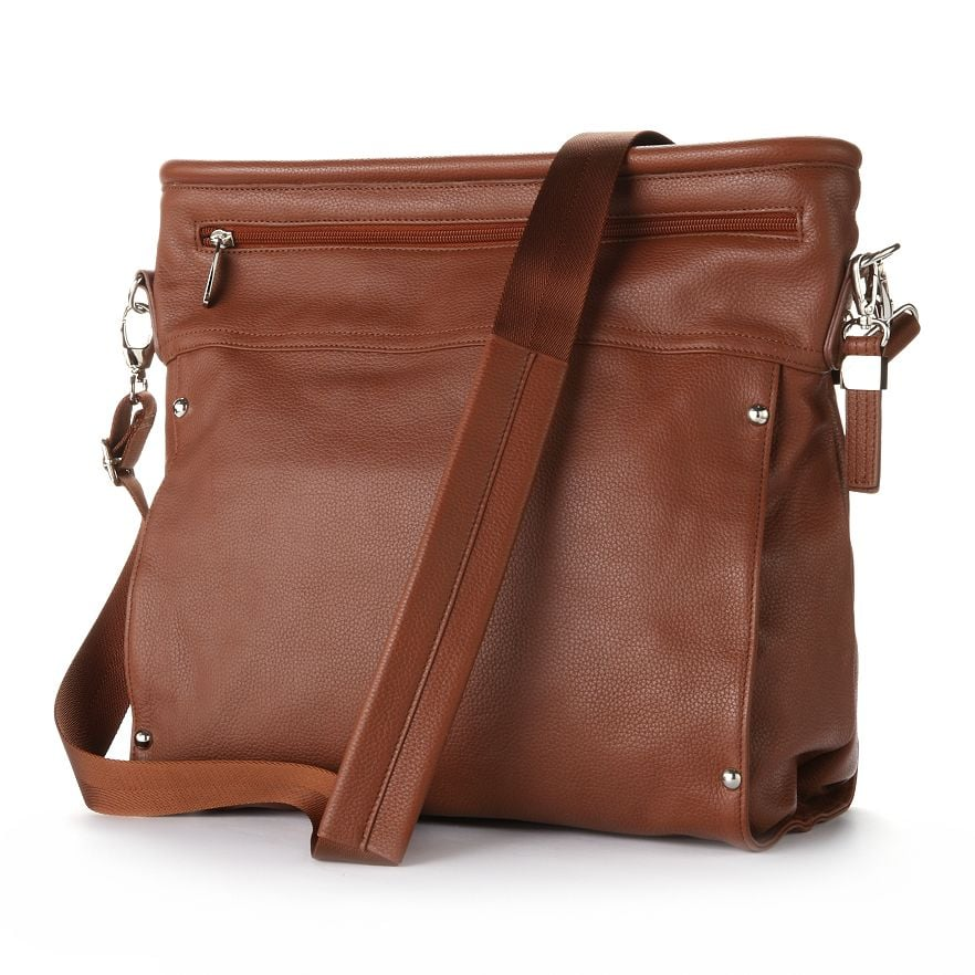 Buxton Leather Satchel