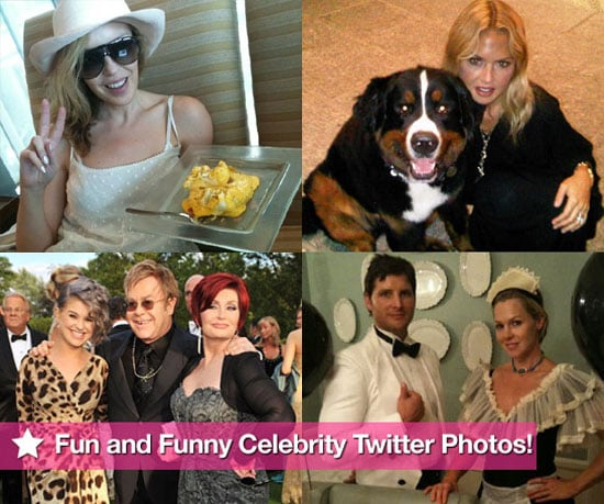 Pictures of Fun and Funny Celebrity Twitter Photos