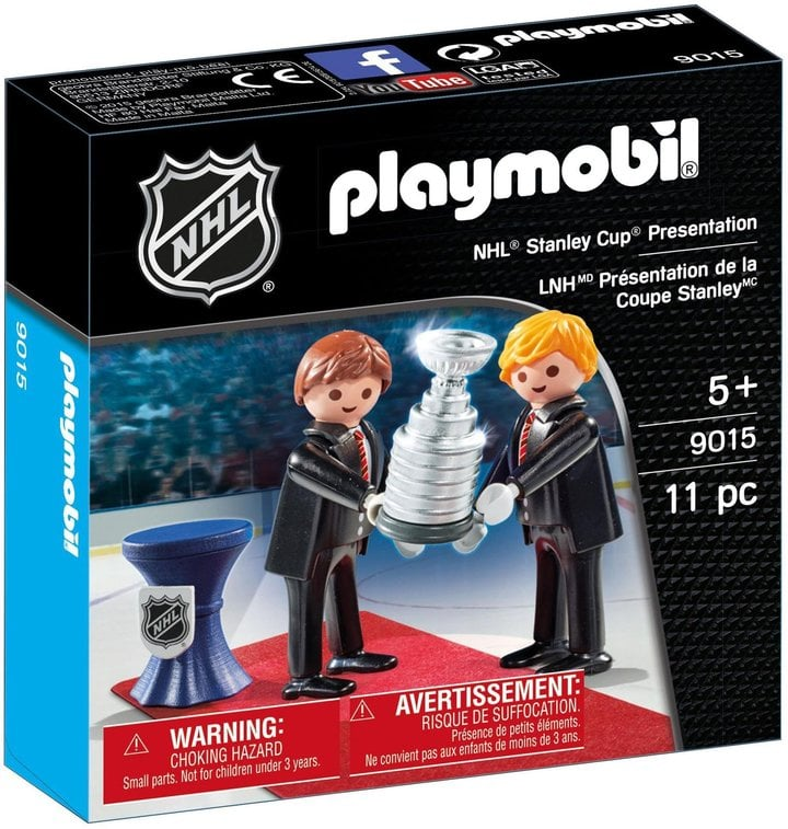 For 6-Year-Olds: Playmobil NHL Stanley Cup Presentation Set Building Kit