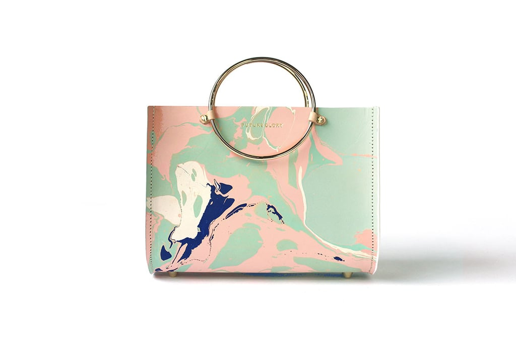 The Future Glory Marbled Mini Bag ($350) proves marble isn't just for your home.