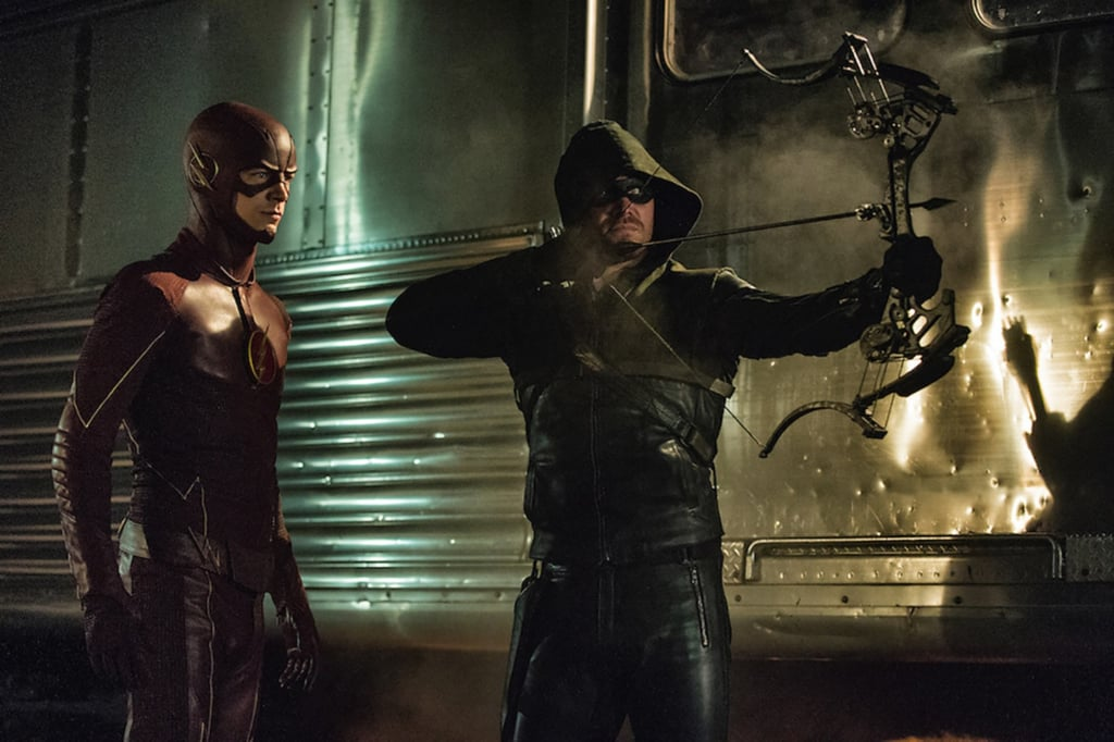 Arrow The Flash Supergirl 2018 Crossover on The CW Photos