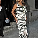 Beyoncé Knowles headed out in NYC.