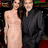 October yielded another lovely red carpet event for George and Amal — they attended the  premiere of Our Brand Is Crisis in LA.