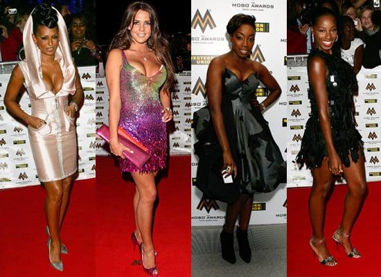 Mobo Awards 2008, Red Carpet, Mel B, Jamelia, Estelle, Danielle Lloyd, Best Dressed,