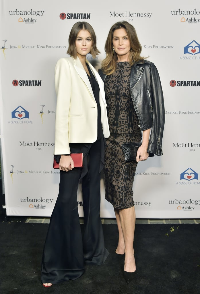 Cindy Crawford and Kaia Gerber Wearing Statement Outerwear in 2019