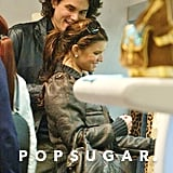 John Mayer shopped at Yves Saint Laurent with Jessica Simpson during their romantic trip to Rome in March 2007.