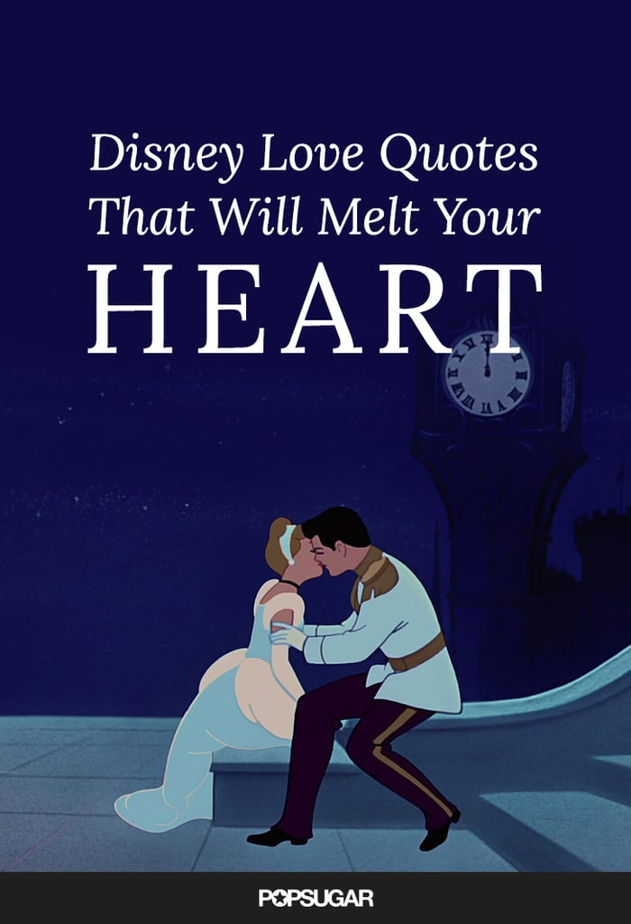 Love Quotes Images Amazing Disney Love Quotes POPSUGAR Love Sex