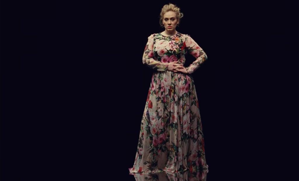 Adele Dress Dolce and Gabbana