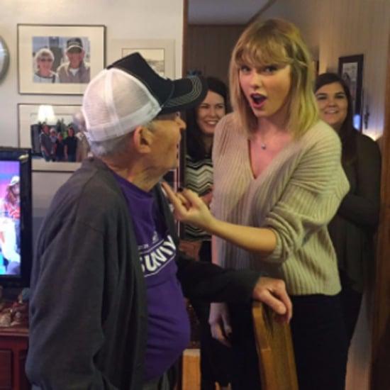 Taylor Swift Surprising Veteran For Christmas 2016