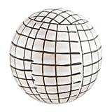 White Window Pane Sphere