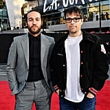Pete Wentz and Rivers Cuomo at the 2019 American Music Awards
