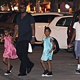 Diddy Hits the Beach Following a Night of Champagne and Jewels