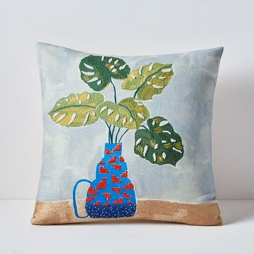 Tropical Arrangement Pillow Cover