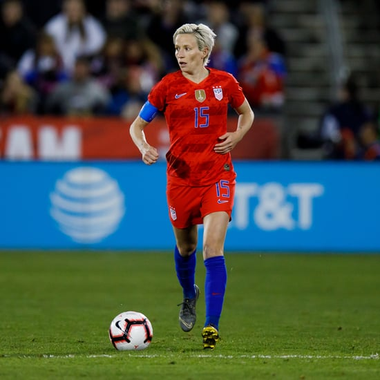 Football Start Megan Rapinoe Recovery Tips
