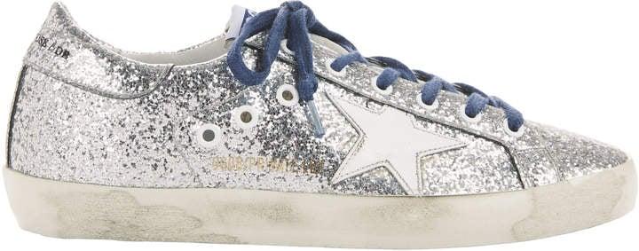 Golden Goose Deluxe Brand Superstar Glitter Sneakers