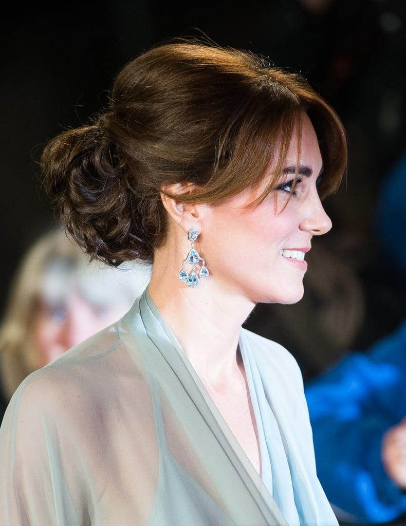 Kate Middleton's Curtain Bangs, 2015