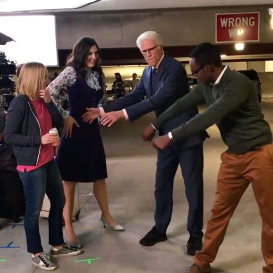 Ted Danson Learning How to Floss Dance