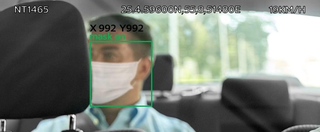طرق دبي تكافح كوفيد-19 بتقنيات الذكاء الاصطناعي في التكاسي