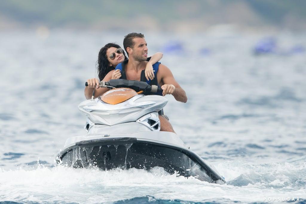 Selena Gomez and Cara Delevingne in a Bikini in Saint-Tropez ...