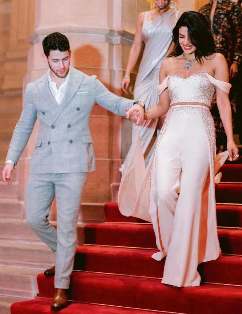 Priyanka Chopra Prewedding Party Outfit
