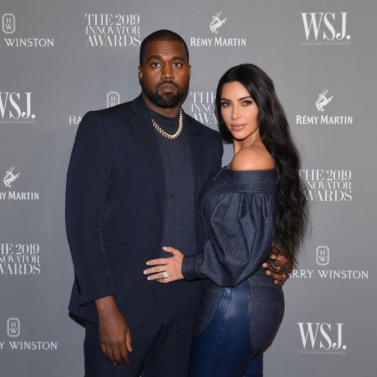 Kim Kardashian's 44th Birthday Message For Kanye West