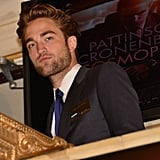Robert Pattinson was on hand to ring the opening bell at the New York Stock Exchange.