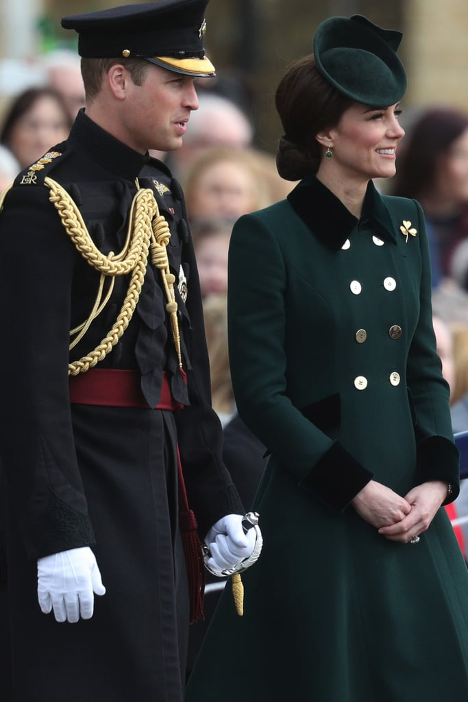Kate Middleton's Green Coat For St. Patrick's Day March 2017