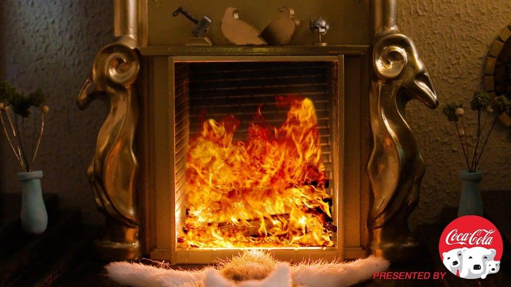 Thor's Fireplace | Marvel Heroes Fireplace Videos | POPSUGAR Tech ...
