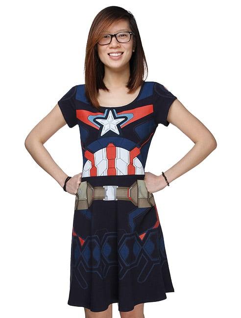 Captain America Age of Ultron Dress ($45)