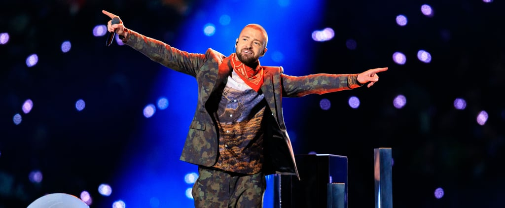 Justin Timberlake's Super Bowl Outfit Reminds Us That He Is a Man of the Woods