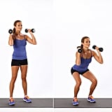 Basic Dumbbell Squat