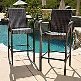Delson Brown Barstool Set