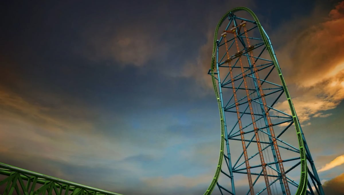 Zumanjaro: Drop of Doom (Six Flags Great Adventure, Jackson, NJ)