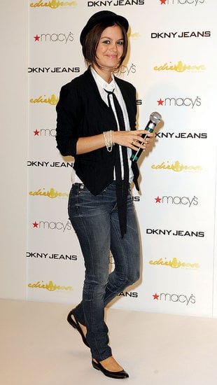 Androgynous Rachel Bilson, in Edie Rose For DKNY: Love It or Hate It?